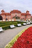 Romantisches Troja Schloss Lizenzfreies Stockbild