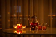 Romantisches zuhause glätten lizenzfreies stockbild
