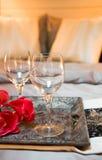 romantisk överrrakning royaltyfri foto