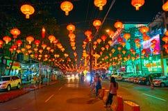 Romantisk afton Yangon, Myanmar royaltyfri foto