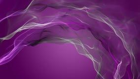 Romantisk animering med partikelvågobjekt i ultrarapid, 4096x2304 ögla 4K stock video