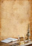 Romantisk bakgrund Royaltyfri Fotografi