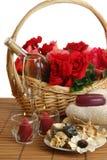 romantisk brunnsort Royaltyfria Foton