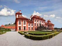 Romantisk Chateau Prague Arkivbilder