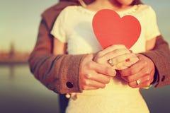 Romantisk förälskelse Arkivbilder