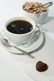 Romantisk frukost arkivfoton