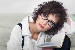 romantisk kvinna Arkivbild