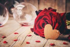 Romantisk matställe för älsklingen Royaltyfri Bild