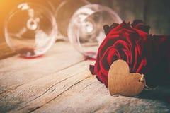 Romantisk matställe för älsklingen Arkivbilder