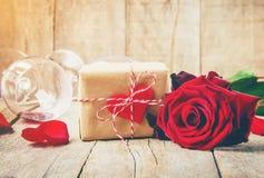 Romantisk matställe för älsklingen Fotografering för Bildbyråer