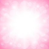 Romantisk rosa bakgrund Royaltyfri Bild