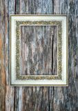 Romantisk scrapbookbakgrund med ramen Arkivbild