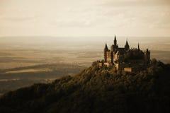 Romantisk slott Arkivbilder
