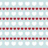 Romantisk textur med hjärtavalentindag Modell för tapeten, modeller, webbsidabakgrund, yttersidatexturer Arkivbild