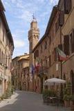 romantisk town tuscany Royaltyfri Bild