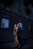 romantiska parförälskelsefoto arkivbilder