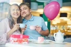 Romantiska valentin Fotografering för Bildbyråer