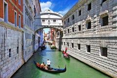 Romantiska Venedig Royaltyfria Foton