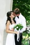 romantiskt bröllop Royaltyfria Foton