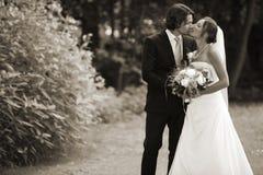 romantiskt bröllop royaltyfri foto