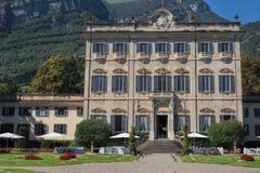 Romantiskt bröllopläge, Tremezzo, sjö Como royaltyfri foto