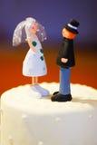 romantiskt inställningsbröllop Royaltyfria Bilder