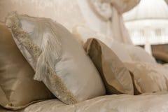 Romantiskt sovrum Arkivfoto