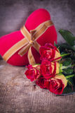 Romanttic background Stock Images