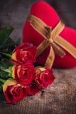 Romantticachtergrond Royalty-vrije Stock Afbeeldingen