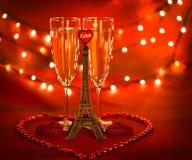 Romantyczna data Fotografia Royalty Free