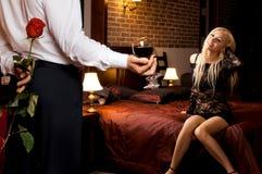 Romantyczna data Zdjęcie Stock