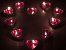 Romantyczna deklaracja miłość Obrazy Royalty Free