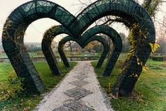 Romantyczna droga przemian zdjęcie royalty free