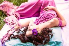 Romantyczna dziewczyna Fotografia Stock