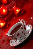 romantyczna herbata Zdjęcia Royalty Free