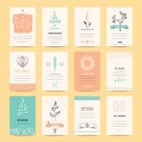 Romantyczna karta, przyjęcie urodzinowe, Ślubni zaproszenia royalty ilustracja