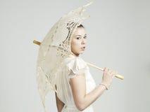romantyczna kobieta Zdjęcie Stock