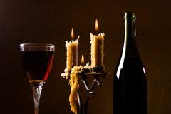 romantyczna kolacja Fotografia Stock