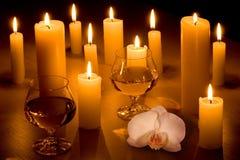 romantyczna kolacja Obrazy Royalty Free