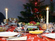 romantyczna kolacja Zdjęcie Royalty Free