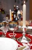 romantyczna kolacja obraz stock