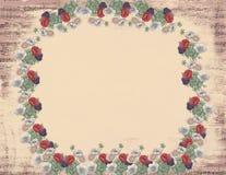Romantyczna Kwiaciasta Muzykalna notatka Zdjęcie Royalty Free
