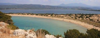 romantyczna laguny panorama zdjęcie stock