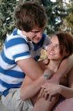 romantyczna para Zdjęcia Stock