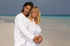 romantyczna para Zdjęcie Royalty Free
