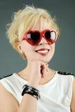 Romantyczna punkowa dziewczyna Zdjęcie Royalty Free
