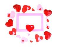 romantyczna ramowa wakacyjna fotografia Obraz Stock