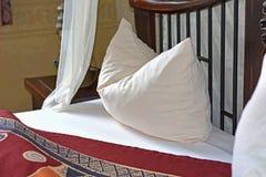 Romantyczna sypialnia Fotografia Royalty Free