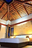 Romantyczna sypialnia Fotografia Stock