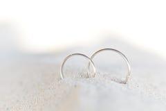 Romantyczna tropikalna scena na plaży obraz royalty free